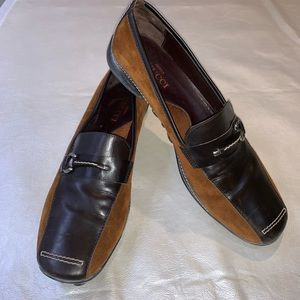 Sesto  meucci Italian leather and suede loafers